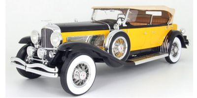 Premium ClassiXXs 1/12scale Duesenberg Model SJ Tourster Derham 1932 (Orange / Black)  [No.PCS40065]