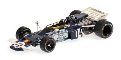 MINICHAMPS 1/43scale LOTUS FORD 72 – GRAHAM HILL – MEXICAN GP 1970  [No.400700014]
