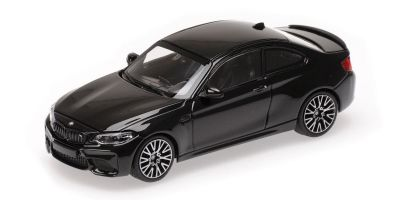 MINICHAMPS 1/43scale BMW M2 COMPETITION – 2019 – BLACK METALLIC  [No.410026201]