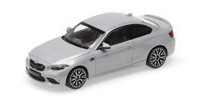 MINICHAMPS 1/43scale BMW M2 Competition 2019 Silver  [No.410026205]