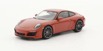 MINICHAMPS 1/43scale PORSCHE 911 (991.2) CARRERA 4S – 2017 – ORANGE  [No.410067241]