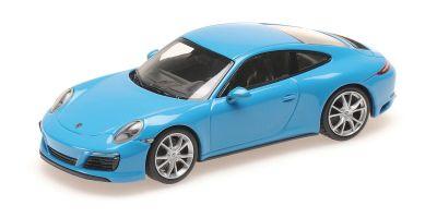 MINICHAMPS 1/43scale PORSCHE 911 (991.2) CARRERA 4S – 2017 – BLUE  [No.410067242]