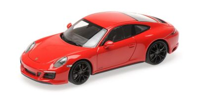 MINICHAMPS 1/43scale PORSCHE 911 (991.2) CARRERA 4GTS – 2017 – RED  [No.410067320]