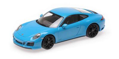 MINICHAMPS 1/43scale PORSCHE 911 (991.2) CARRERA 4GTS – 2017 – BLUE  [No.410067322]