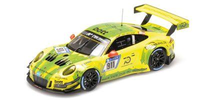 MINICHAMPS 1/43scale PORSCHE 911 GT3 R (991) – MANTHEY RACING – ESTRE/DUMAS/VANTOOR/BAMBER – NBG 2018  [No.410186711]
