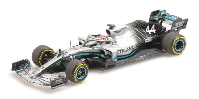 MINICHAMPS 1/43scale MERCEDES-AMG PETRONAS MOTORSPORT F1 W10 EQ POWER – LEWIS HAMILTON – 2019  [No.410190044]
