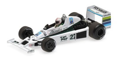 MINICHAMPS 1/43scale WILLIAMS FORD FW06 – ALAN JONES – 3RD PLACE USA GP WEST 1979  [No.410790027]