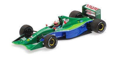 MINICHAMPS 1/43scale JORDAN FORD 191 – ANDREA DE CESARIS – 4TH PLACE CANADIAN GP 1991  [No.410910033]