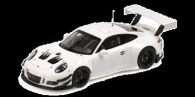 MINICHAMPS 1/43scale Porsche 911 GT3 R (991) Plain Body White  [No.413186799]