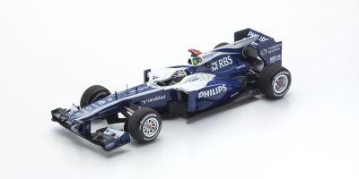 MINICHAMPS 1/43scale AT&T WILLIAMS COSWORTH FW32 – RUBENS BARRICHELLO – 300TH GP BELGIAN GP 2010  [No.417103009]