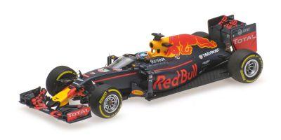 MINICHAMPS 1/43scale RED BULL RACING TAG HEUER RB12 – DANIEL RICCIARDO – AERO SHIELD TEST FREE PRACTICE RUSSIAN GP 2016  [No.417160203]