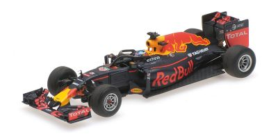 MINICHAMPS 1/43scale RED BULL RACING TAG HEUER RB12 – DANIEL RICCIARDO – HALO TEST BELGIAN GP 2016  [No.417160903]