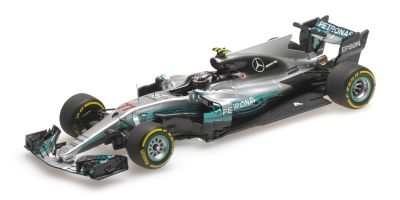 MINICHAMPS 1/43scale MERCEDES AMG PETRONAS FORMULA ONE TEAM F1 W08 EQ POWER+ – VALTTERI BOTTAS – CHINESE GP 2017  [No.417170277]