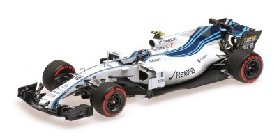 MINICHAMPS 1/43scale WILLIAMS MARTINI RACING MERCEDES FW40 – LANCE STROLL – ABU DHABI GP 2017  [No.417172018]