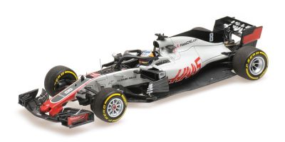 MINICHAMPS 1/43scale HAAS F1 TEAM FERRARI VF-18 – ROMAIN GROSJEAN – 2018  [No.417180008]