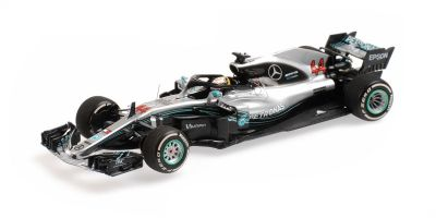 MINICHAMPS 1/43scale MERCEDES AMG PETRONAS FORMULA ONE TEAM-LEWIS HAMILTON-WINNER BRAZILIAN GP 2018  [No.417182044]