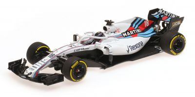 MINICHAMPS 1/43scale WILLIAMS MARTINI RACING MERCEDES – LANCE STROLL – SHOWCAR 2018  [No.417189018]