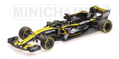 MINICHAMPS 1/43scale RENAULT SPORT FORMULA ONE TEAM – NICO HÜLKENBERG – SHOWCAR 2018  [No.417189027]