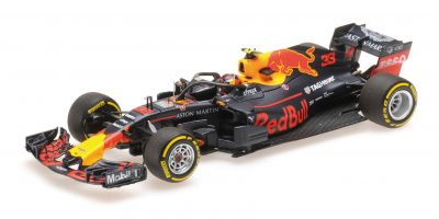 MINICHAMPS 1/43scale ASTON MARTIN RED BULL RACING – MAX VERSTAPPEN – SHOWCAR 2018  [No.417189033]