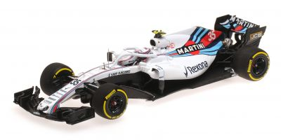 MINICHAMPS 1/43scale WILLIAMS MARTINI RACING MERCEDES – SERGEY SIROTKIN – SHOWCAR 2018  [No.417189035]