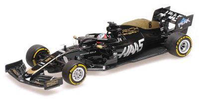 MINICHAMPS 1/43scale RICH ENERGY HAAS F1 TEAM FERRARI VF-19 – ROMAIN GROSJEAN – 2019  [No.417190008]