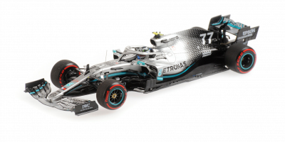 MINICHAMPS 1/43scale M-AMG Petronus W10 Bottas UK GP2019 2nd place  [No.417191077]