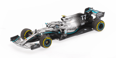 PMA 1/43scale MERCEDES-AMG PETRONAS MOTORSPORT F1 W10 EQ POWER – VALTTERI BOTTAS – WINNER USA GP 2019   [No.417191877]