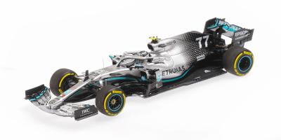 PMA 1/43scale MERCEDES-AMG PETRONAS MOTORSPORT F1 W10 EQ POWER – VALTTERI BOTTAS – WINNER USA GP 2019   [No.417191877]