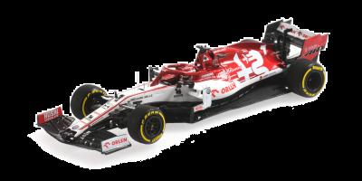 MINICHAMPS 1/43scale Alfa Romeo Racing F1 C39 Kimi Raikkonen 2020 LAUNCH SPEC  [No.417200007]