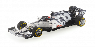 MINICHAMPS 1/43scale Scuderia AlphaTauri Racing Honda AT1 Daniel Kvyat 2020 LAUNCH SPEC  [No.417200026]