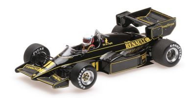 MINICHAMPS 1/43scale LOTUS RENAULT 95T - ELIO DE ANGELIS - 1984  [No.417840011]