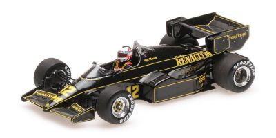 MINICHAMPS 1/43scale LOTUS RENAULT 95T - NIGEL MANSELL - 1984  [No.417840012]