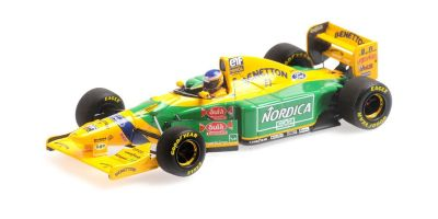 MINICHAMPS 1/43scale BENETTON FORD B193B – MICHELE ALBORETO – TESTING BARCELONA 15TH DECEMBER 1993  [No.417930099]