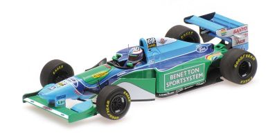 MINICHAMPS 1/43scale BENETTON FORD B194 - JJ LEHTO - MONACO GP 1994 L.E. 300 pcs.  [No.417940406]