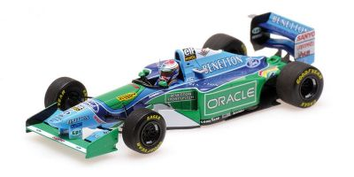 MINICHAMPS 1/43scale BENETTON FORD B194 – JOS VERSTAPPEN – BRITISH GP 1994  [No.417940806]