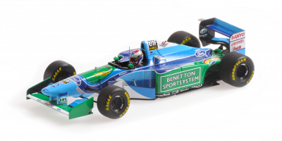 MINICHAMPS 1/43scale Benetton Ford B194 Jos Verstappen Belgium GP 1994  [No.417941106]