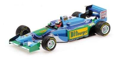 MINICHAMPS 1/43scale BENETTON FORD B194 – JOHNNY HERBERT – JAPANESE GP 1994  [No.417941506]