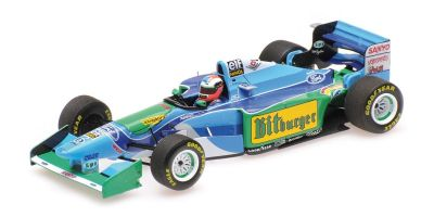 MINICHAMPS 1/43scale BENETTON FORD B194 - JOHNNY HERBERT - AUSTRALIAN GP 1994 L.E. 300 pcs.  [No.417941606]