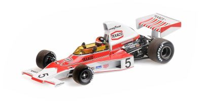 MINICHAMPS 1/43scale McLaren Ford M23 Emerson Fittipaldi 1974 World Champion with Engine  [No.436740005]