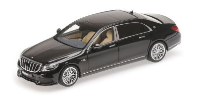 MINICHAMPS 1/43scale MAYBACH BRABUS 900 AUF BASIS MERCEDES-BENZ – MAYBACH S 600 – 2016 – BLACK  [No.437035420]