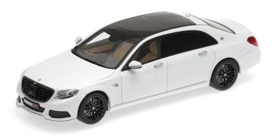 MINICHAMPS 1/43scale MAYBACH BRABUS 900 AUF BASIS MERCEDES-BENZ – MAYBACH S 600 – 2016 – WHITE  [No.437035421]