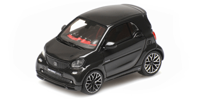 MINICHAMPS 1/43scale Smart Brabus Ultimate 125 2017 Black  [No.437036200]