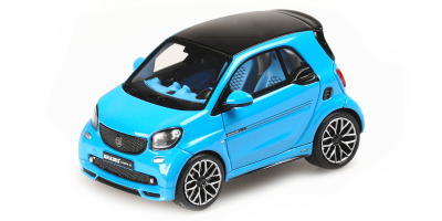 MINICHAMPS 1/43scale Smart Brabus Ultimate 125 2017 Blue  [No.437036201]