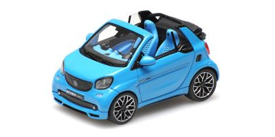 MINICHAMPS 1/43scale Smart Brabus Ultimate 125 Cabriolet 2017 Blue  [No.437036230]