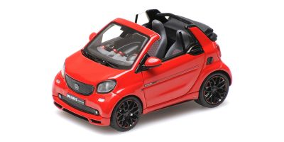 MINICHAMPS 1/43scale Smart Brabus Ultimate 125 Cabriolet 2017 Red  [No.437036231]