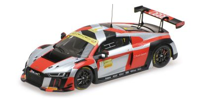 MINICHAMPS 1/43scale AUDI R8 LMS – AUDI SPORT TEAM WRT – EDOARDO MORTARA – FIA GT WORLD CUP MACAU 2016  [No.437161107]