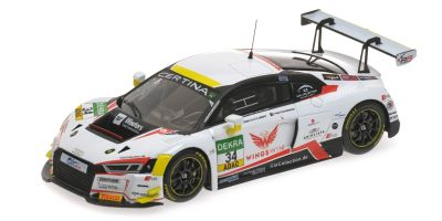 MINICHAMPS 1/43scale AUDI R8 LMS – CAR COLLECTION MOTORSPORT – LOPEZ/VAN DER LINDE – ADAC GT MASTERS 2016  [No.437161134]