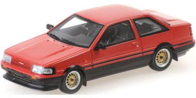 MINICHAMPS 1/43scale Toyota Corolla GT 1984 Red  [No.437166320]