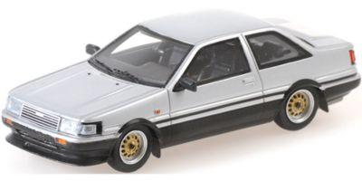 MINICHAMPS 1/43scale Toyota Corolla GT 1984 Silver  [No.437166321]