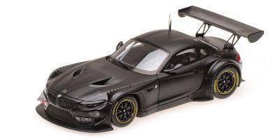 MINICHAMPS 1/43scale BMW Z4 GT3 – PLAIN BODY – SATIN BLACK  [No.437172500]